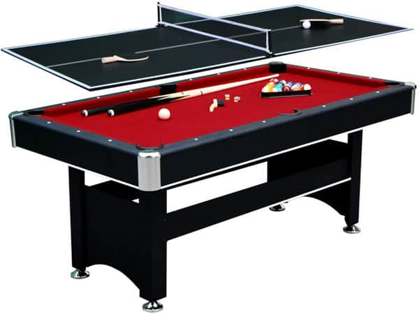 Hathaway Spartan 6ft conversion top pool table