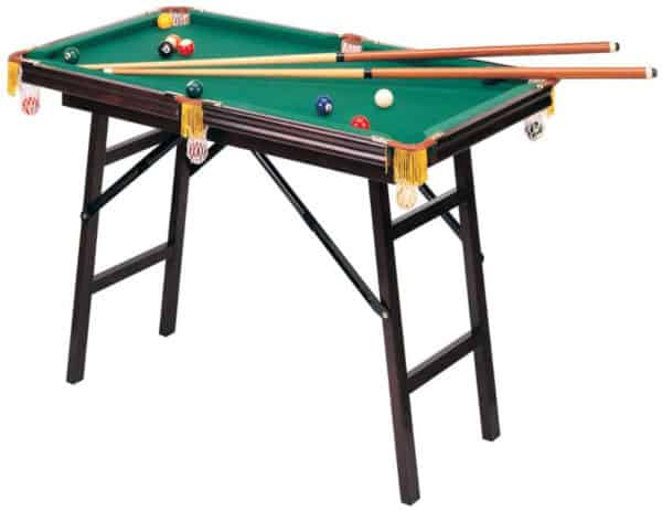 Mini folding pool table for kids