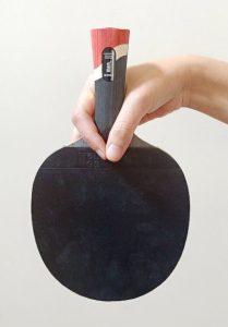 Penhold ping pong paddle grip