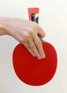 Japanese Penhold ping pong paddle grip