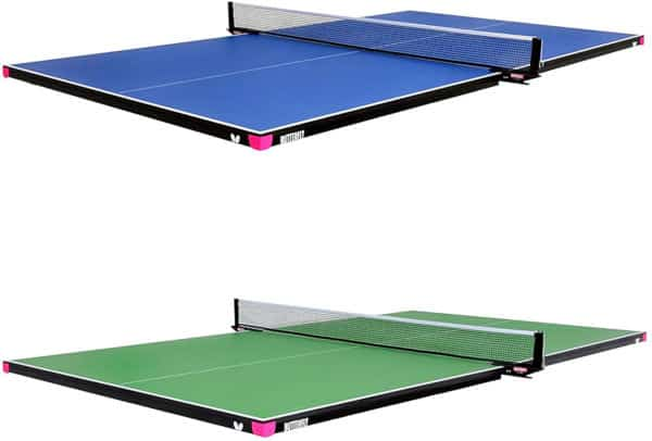 Butterfly Ping Pong Conversion Top for Pool Tables