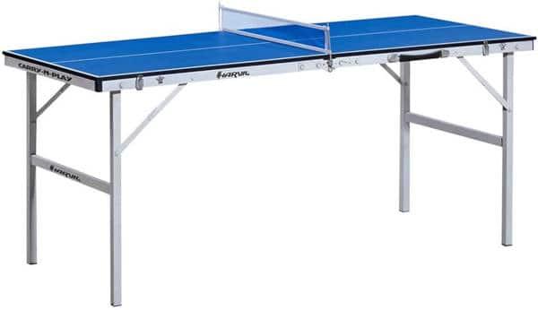 Harvil 60-Inch Folding Portable Table Tennis Table