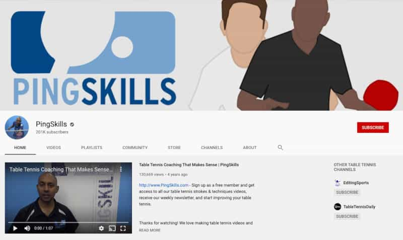 PingSkills YouTube Channel
